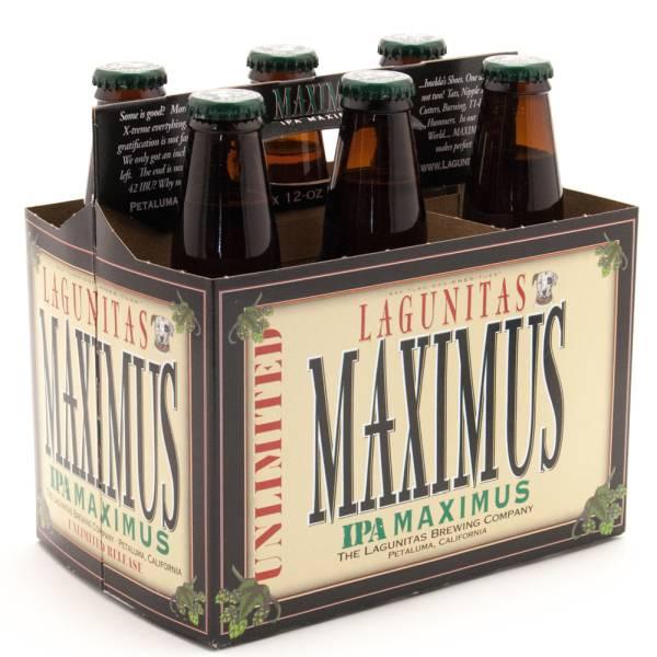 Lagunitas - Maximus IPA - 12oz Bottle - 6 Pack