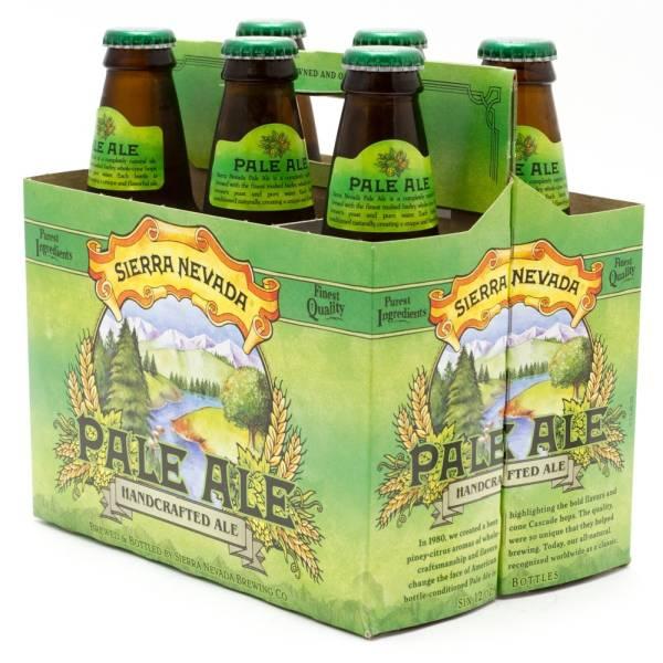 Sierra Nevada - Pale Ale - 12oz Bottle - 6 Pack