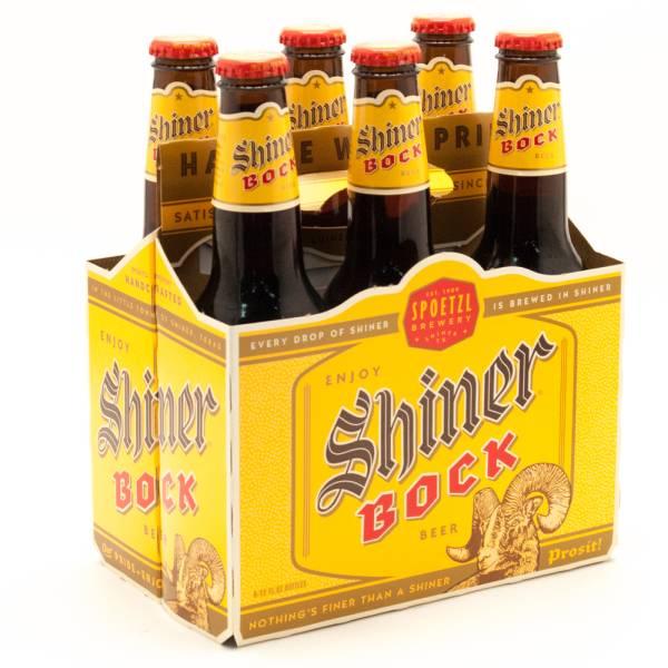 Spoetzl - Shiner - Bock Beer - 12oz Bottle - 6 Pack