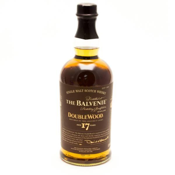 The Balvenie - Double Wood - Aged 17 Years - Single Malt Scotch Whisky - 750ml