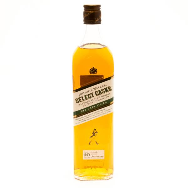 Johnnie Walker - Select Casks - Aged 10 YEars - Blended Scotch Whiskey - 750ml