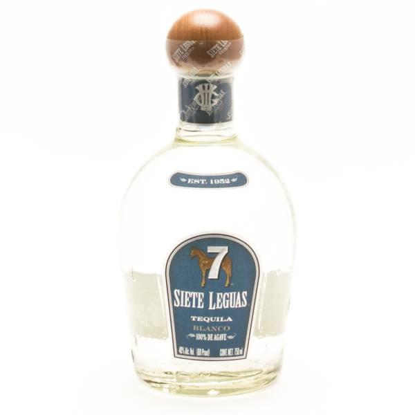 Siete Leguas - Blanco Tequila - 750ml
