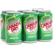 Canada Dry - Ginger Ale - 6 pack