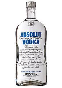Absolut - Vodka - Blue 80 Proof - 1.75L