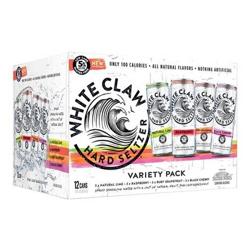 White Claw Mixed Hard Seltzer 12 pack