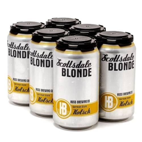 Huss Brewing - Scottsdale Blonde 6 pack