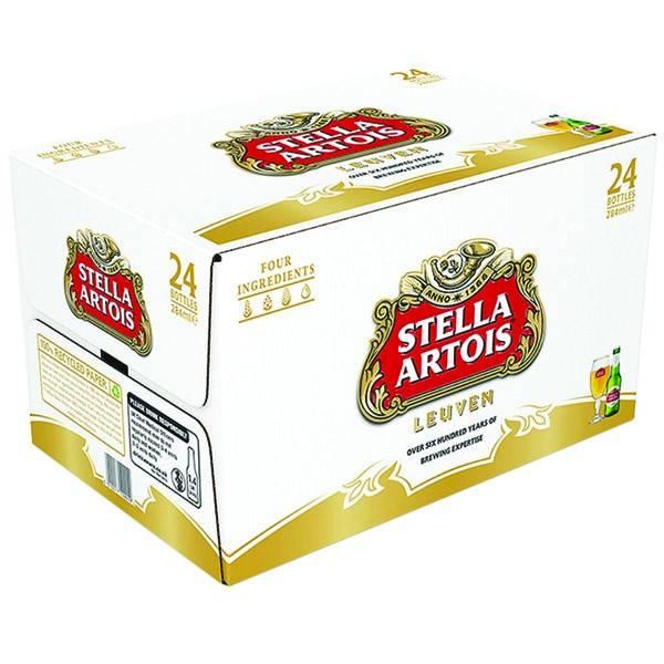 Stella Artois - 24 pack cans