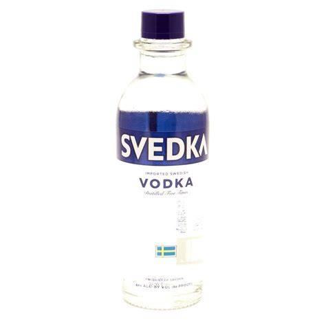 Svedka - Imported Swedish Vodka - 375ml