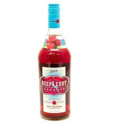 Deep Eddy - Cranberry Vodka - 750ml