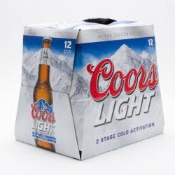 Coors - Light Beer - 12oz Bottle - 12...