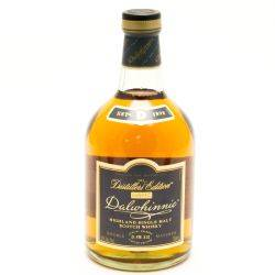 Dalwhinnei - Distillers Edition -...