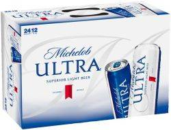 Michelob Ultra 24 pack cans - 12 oz