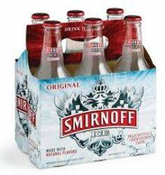 Smirnoff Ice - 6 pack bottles