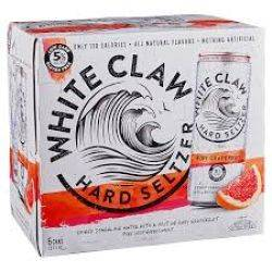 whiteclaw Rub Red Grapefruit - 6 pack