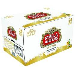 Stella Artois - 24 pack cans