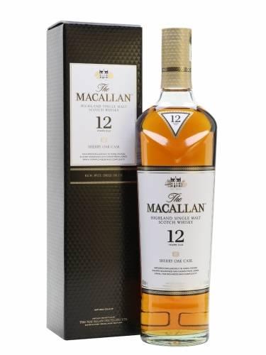 Macallan Highland Single Malt Scotch...