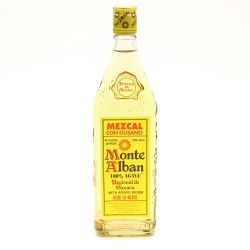 Monte Alban - Tequila with Worm - 750ml