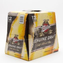 Miller - Genuine Draft - 12oz Bottle...