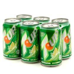 7UP - 12oz Can - 6 Pack