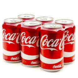 Coca-Cola - 12oz Can - 6 Pack