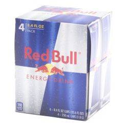Red Bull - 8.4oz Can - 4 Pack