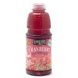Langers - Cranberry Juice - 32oz