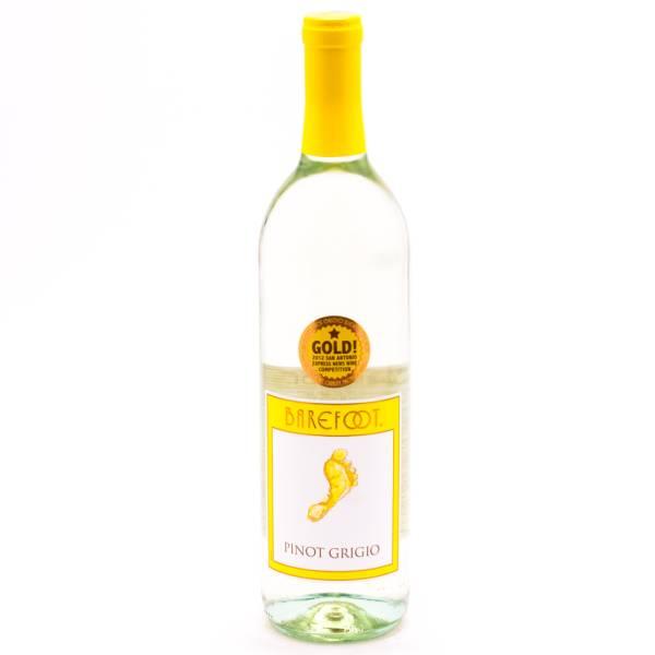 Barefoot - Pinot Grigio - 12.5% ACL - 750ml