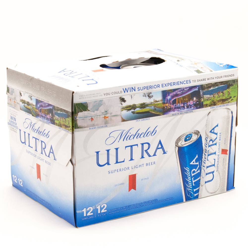 Michelob Ultra 12oz Can 12 Pack Beer Wine And