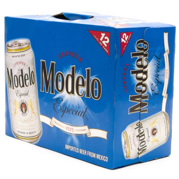 Modelo Especial Imported Beer 12oz Can 12 Pack