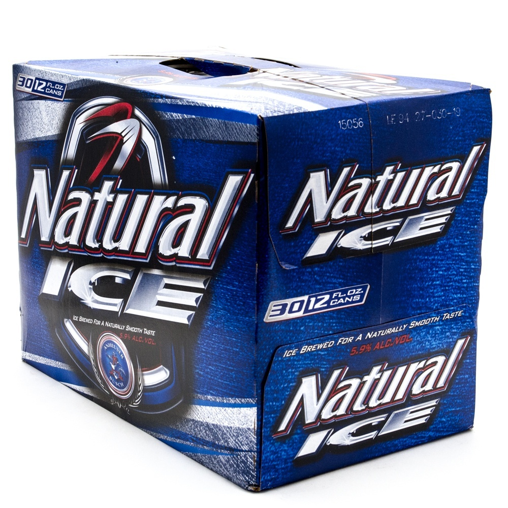 Natural Ice   Beer   12oz Can   30 Pack