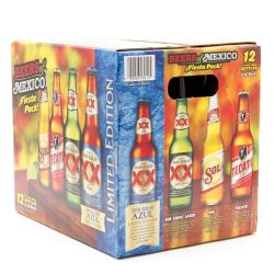 Beers of Mexico - Variety Pack - 12oz...