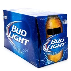 Bud Light - 12oz Bottle - 18 Pack