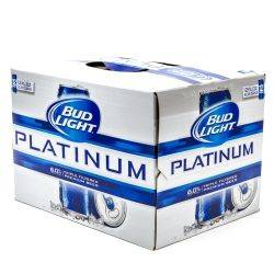 Bud Light - Platinum - 12oz Slim Cans...
