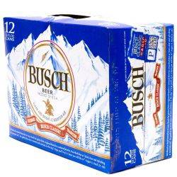 Busch - Beer - 12oz Can - 12 Pack