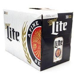 Miller Lite - 12oz Cans - 30 Pack
