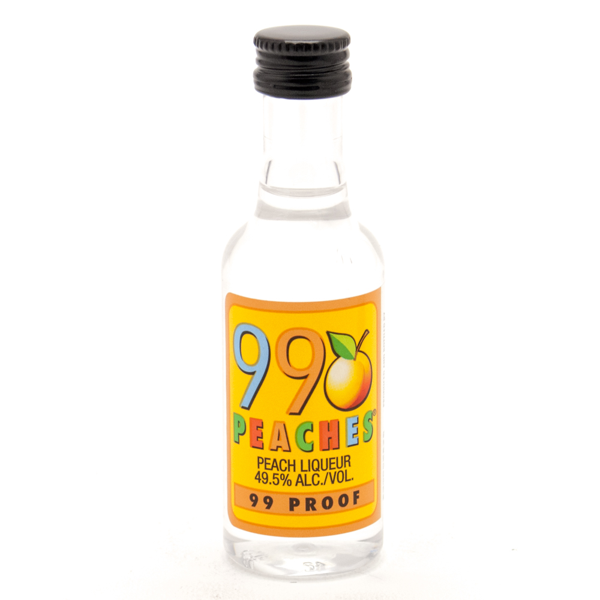 99 - Peaches Liqueur - Mini 50ml