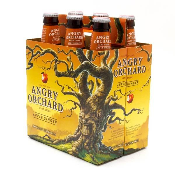 Angry Orchard - Apple Ginger Hard Cider - 12oz Bottle - 6 Pack