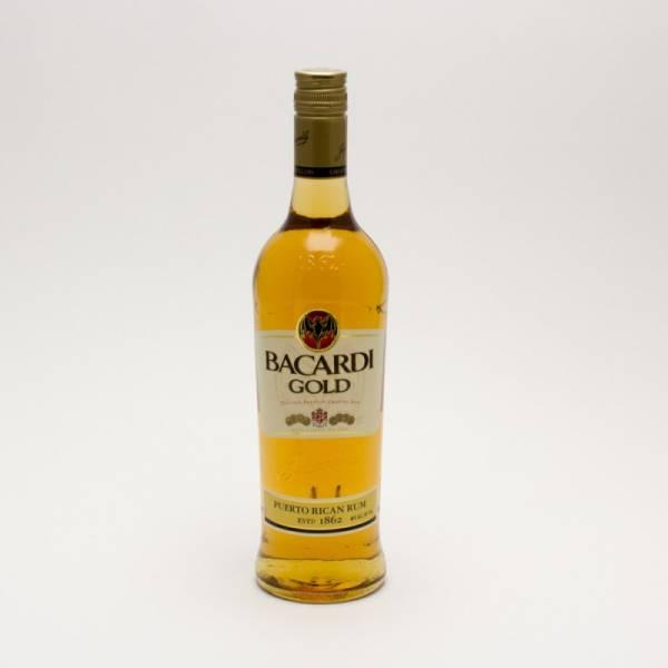 Bacardi - Gold Original Rum - 750ml