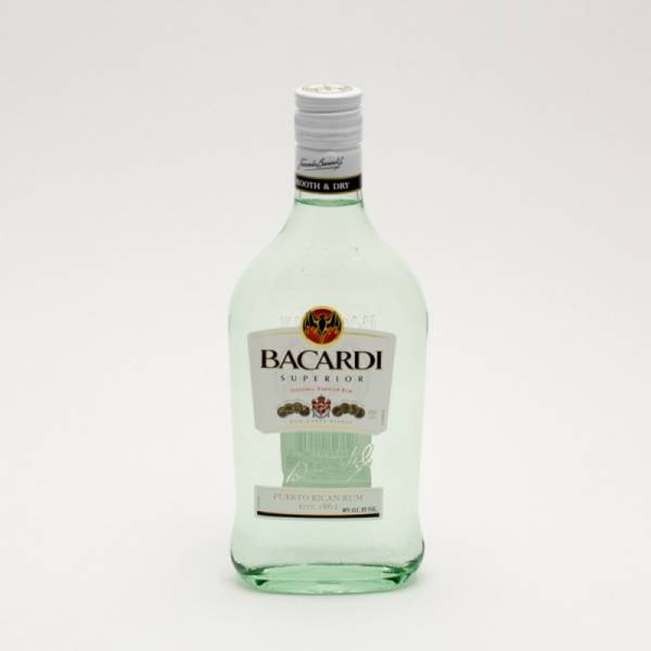 Bacardi - Superior Original Rum - 375ml