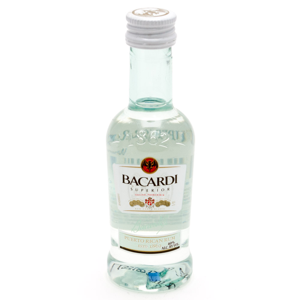 Bacardi - Superior Original Rum - Mini 50ml