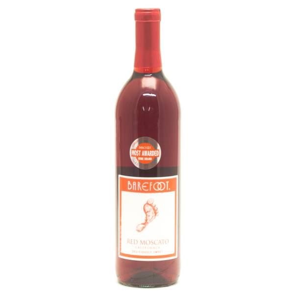 Barefoot - Red Moscato - 750ml