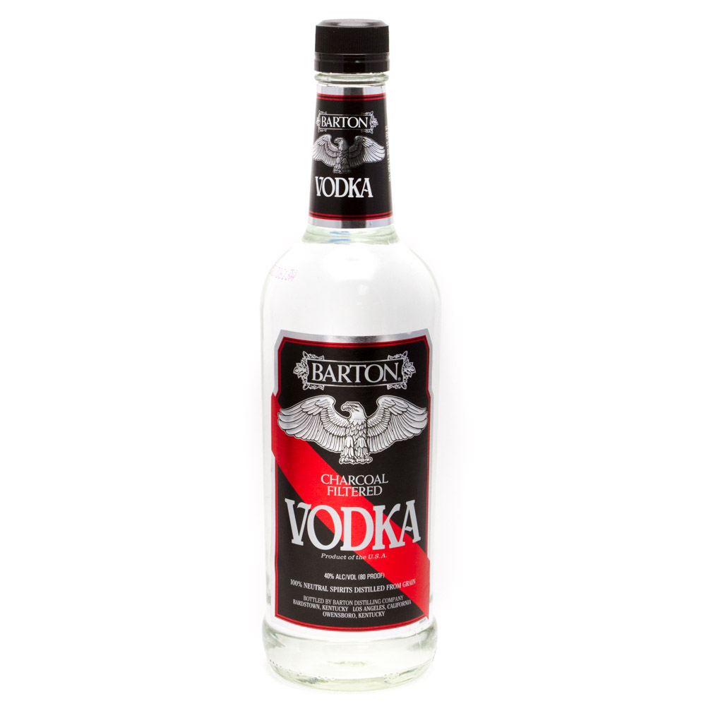 Barton - Charcoal Filterd Vodka - 750ml