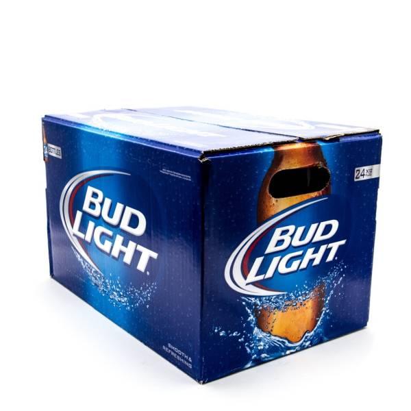 Bud Light - 12oz Bottle - Beer - 24 Pack