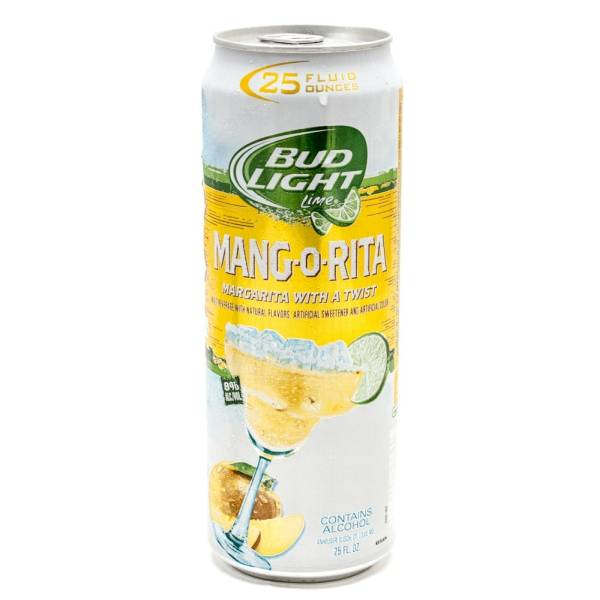 Bud Light Lime - Mang-O-Rita Margarita - 25oz Can