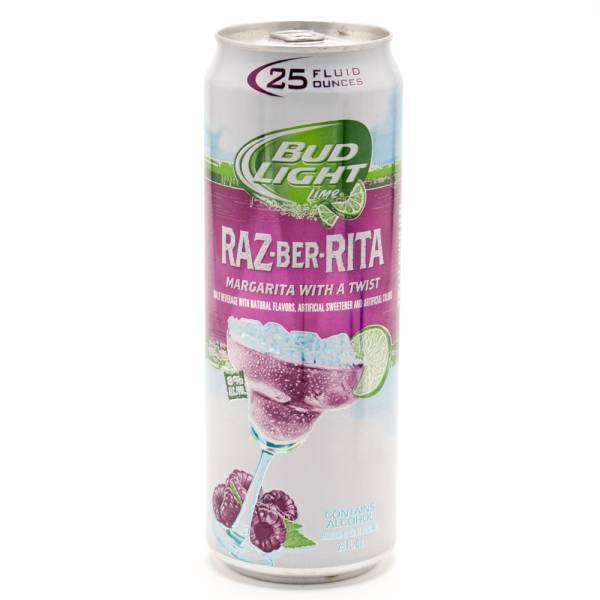 Bud Light Lime - Raz-Ber-Rita Margarita - 25oz Can