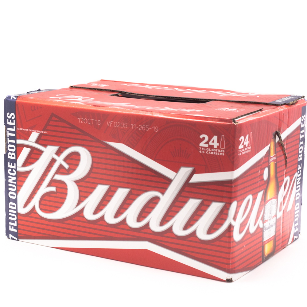 Budweiser - Beer - 7oz Bottle - 24 Pack