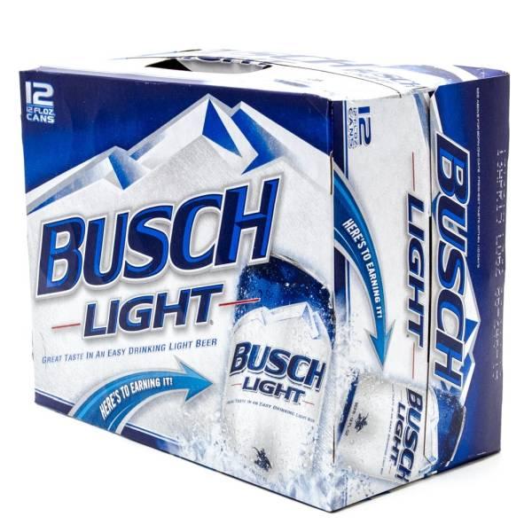 Busch Light - Beer - 12oz Can - 12 Pack