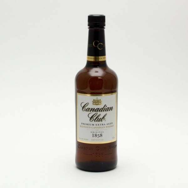Canadian Club - Blended Canadian Whisky - 750ml