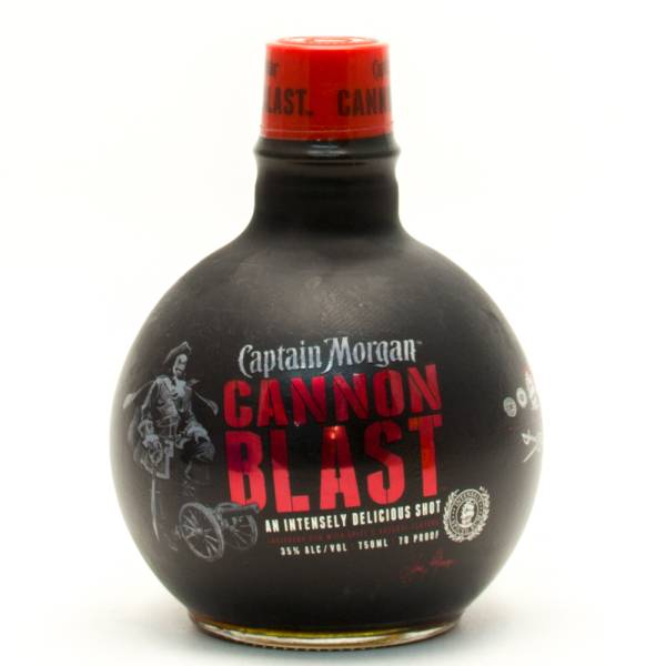 Captain Morgan - Cannon Blast Rum - 750ml