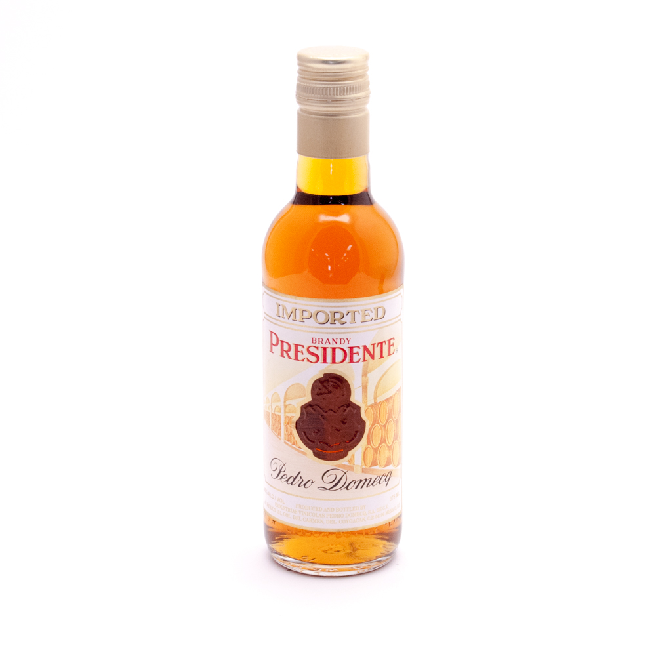 Casa Pedro Domecq - Presidente Imported Brandy - 375ml
